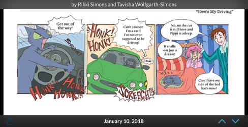 At Tavicat - Hows my Driving? by Tavicat