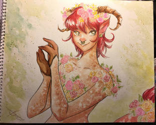 Faun Lady by Tavicat