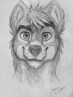 Fursona sketch by Maximum993