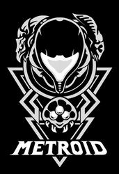 Metroid Tshirt Design by Maximum993