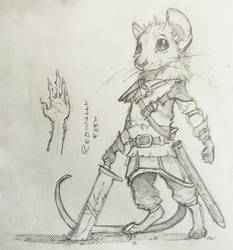 Mouse Warrior thing by Maximum993