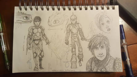 HTTYD sketches by Maximum993