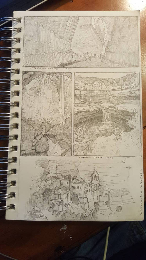 Environment studies by Maximum993