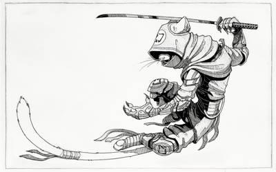 Ninja Cats inked