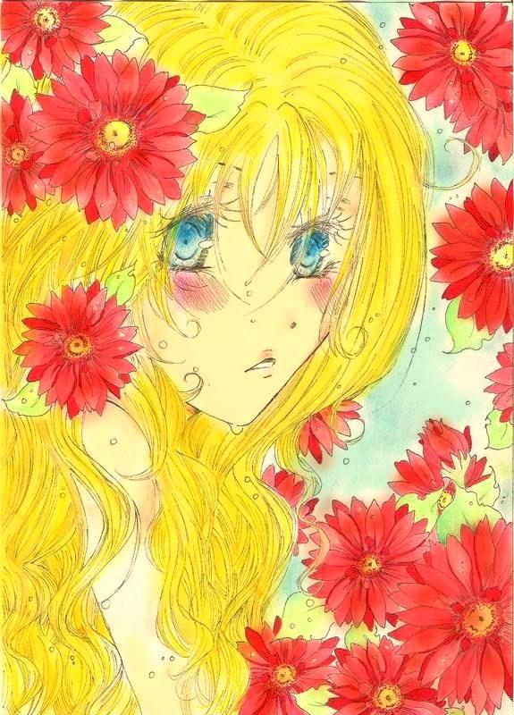 My Sunflower girl by Vampirekisses300