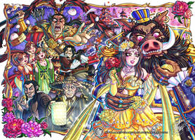 Dynasty Warriors Beauty and the Beast by MariposaBullet