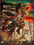 Steadfast Loyalty and Fighting Spirit - Taishi Ci by MariposaBullet
