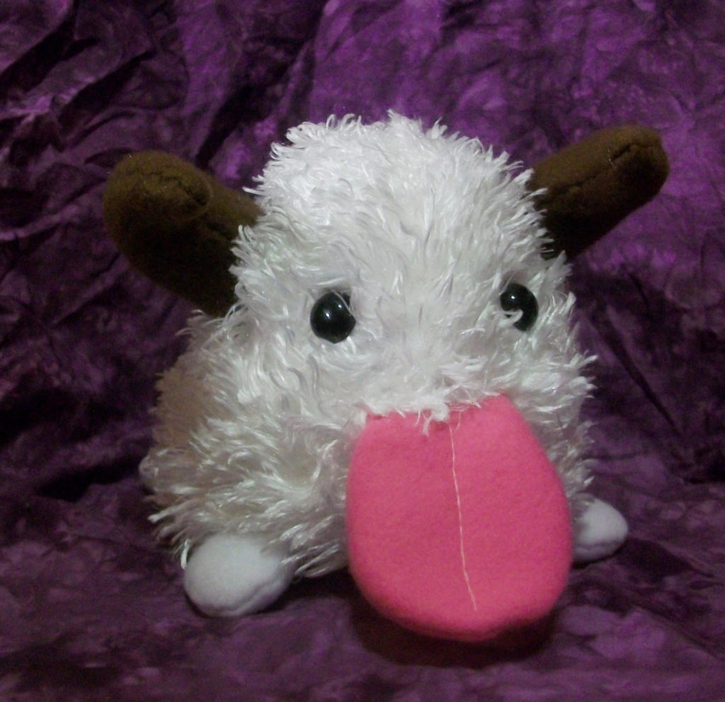 LoL: Small Poro Plushie by magefeathers