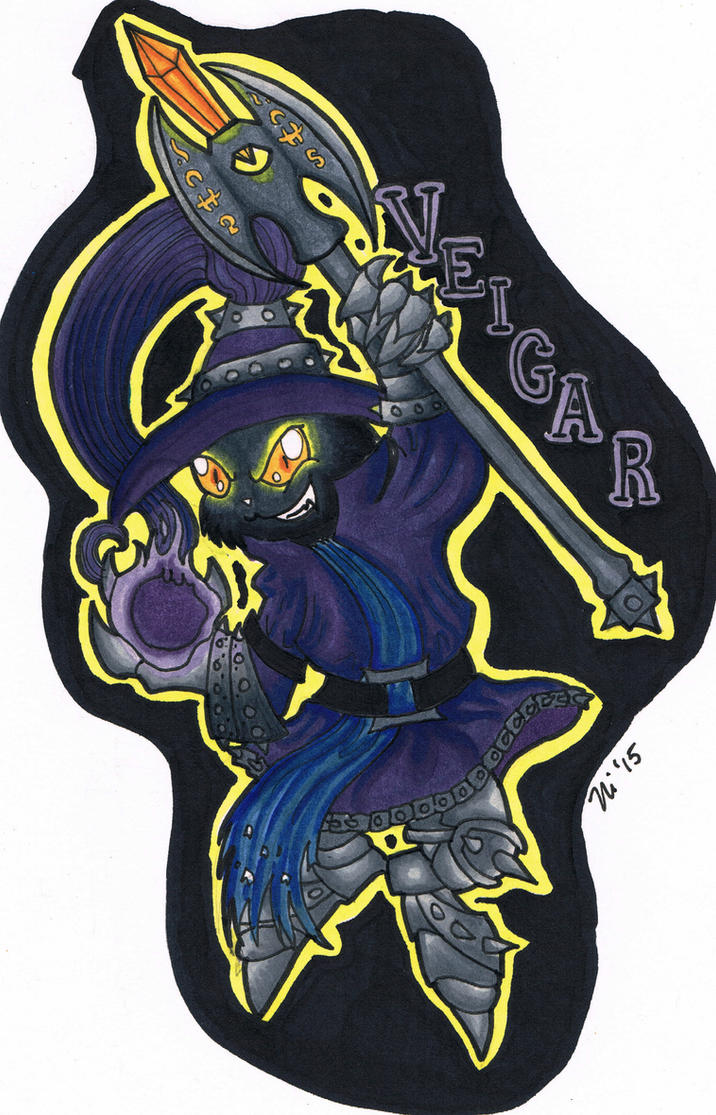 LoL: Veigar Badge by magefeathers