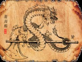 SOBAI the Mongol Dragon (Asian) by XSol-StudiosX