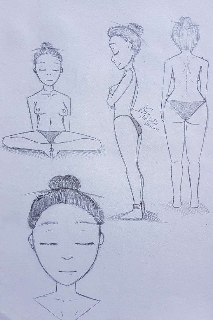 Female Figure Perspectives. by NatCanDo