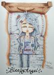 Sleepy Angel - Art Request