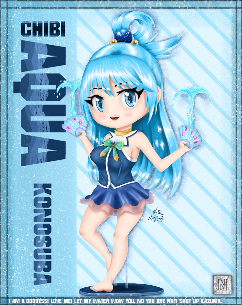 Aqua Chibi - Konosuba