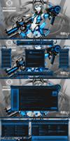 Digital Light BLUE for Win 10 RS2(Creators Update)