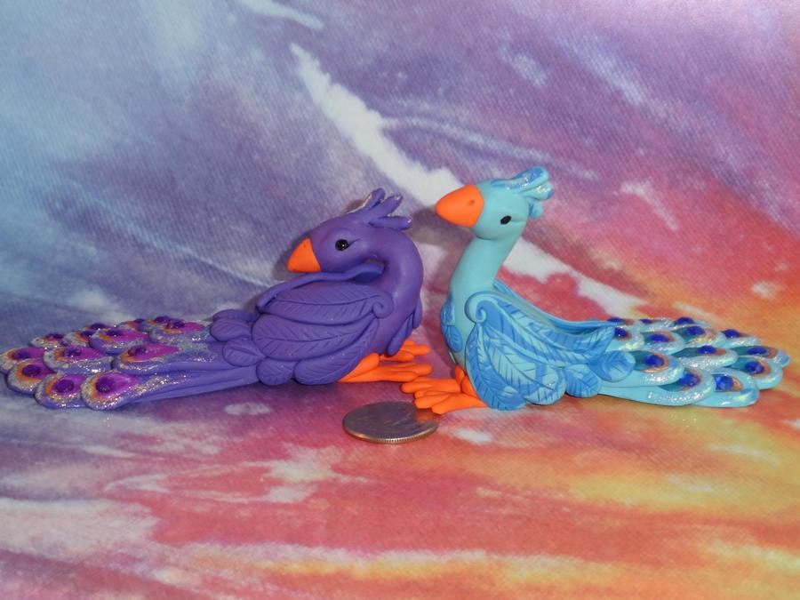 Peacocks I by Devaly