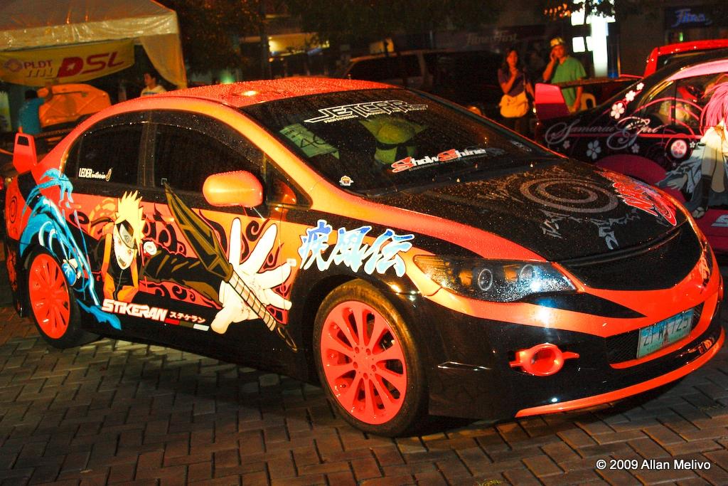 Itasha: Naruto Car 5