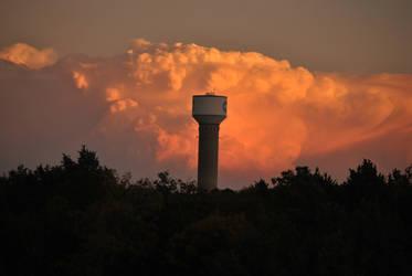 Tornado producing storm 10/24/2010 #1