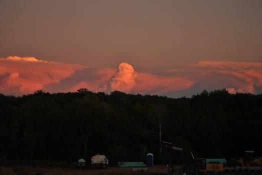 Tornado producing storm 10/24/2010 #2