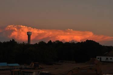 Tornado producing storm 10/24/2010 #3