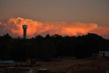 Tornado producing storm 10/24/2010 #4