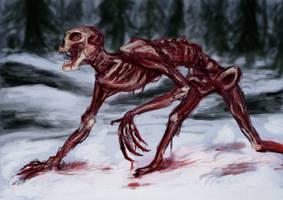 stalking fast zombie by strazi