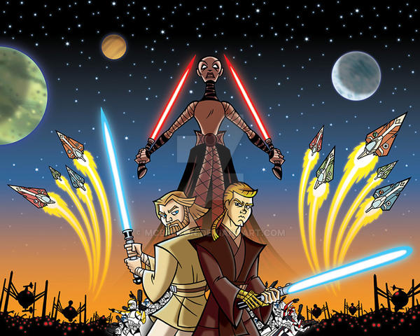Star Wars Clone Wars Wallpaper 1 By Mcbreton On Deviantart