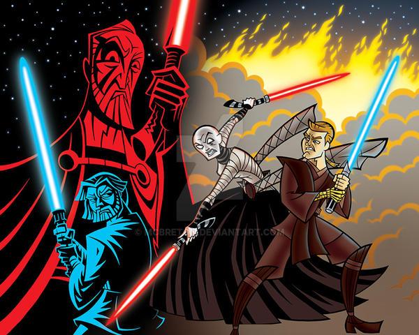 star wars  clone wars wallpaper 2 by mcbreton d789pff