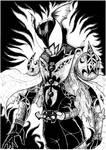 Kamen Rider Dark Kiva BnW