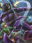 Link vs Puppet Ganon