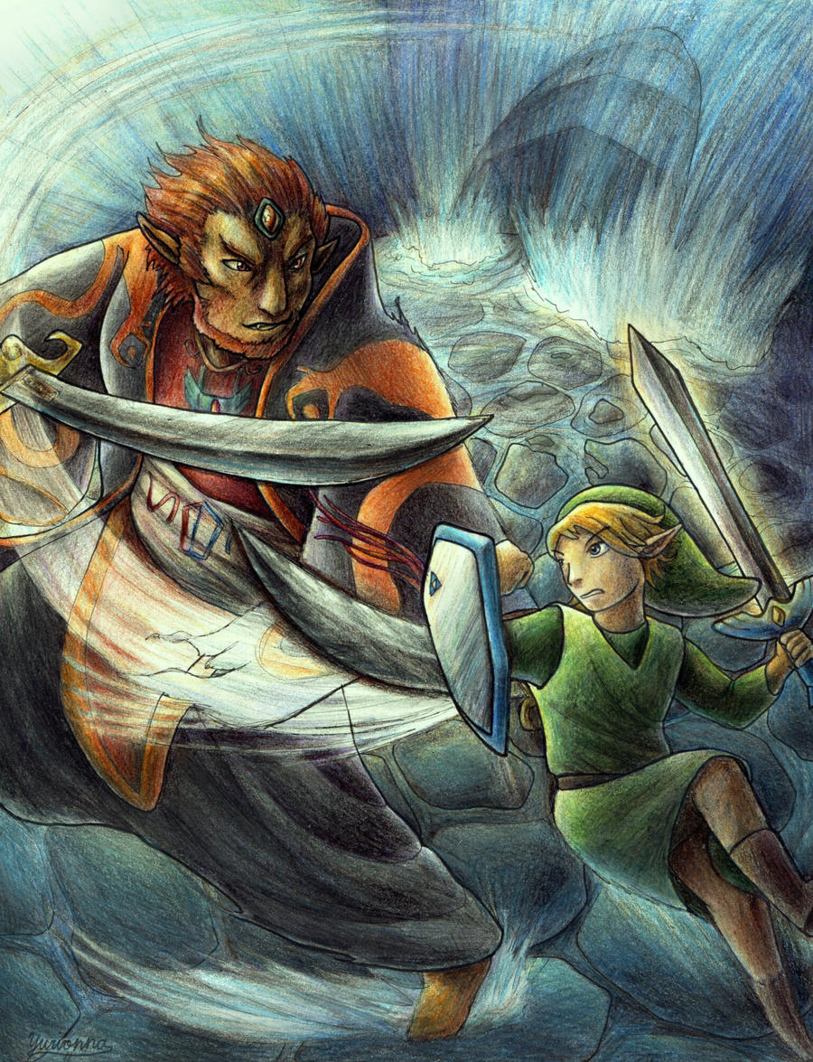 Toon Link Vs Ganondorf