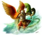 Garuda and Naga