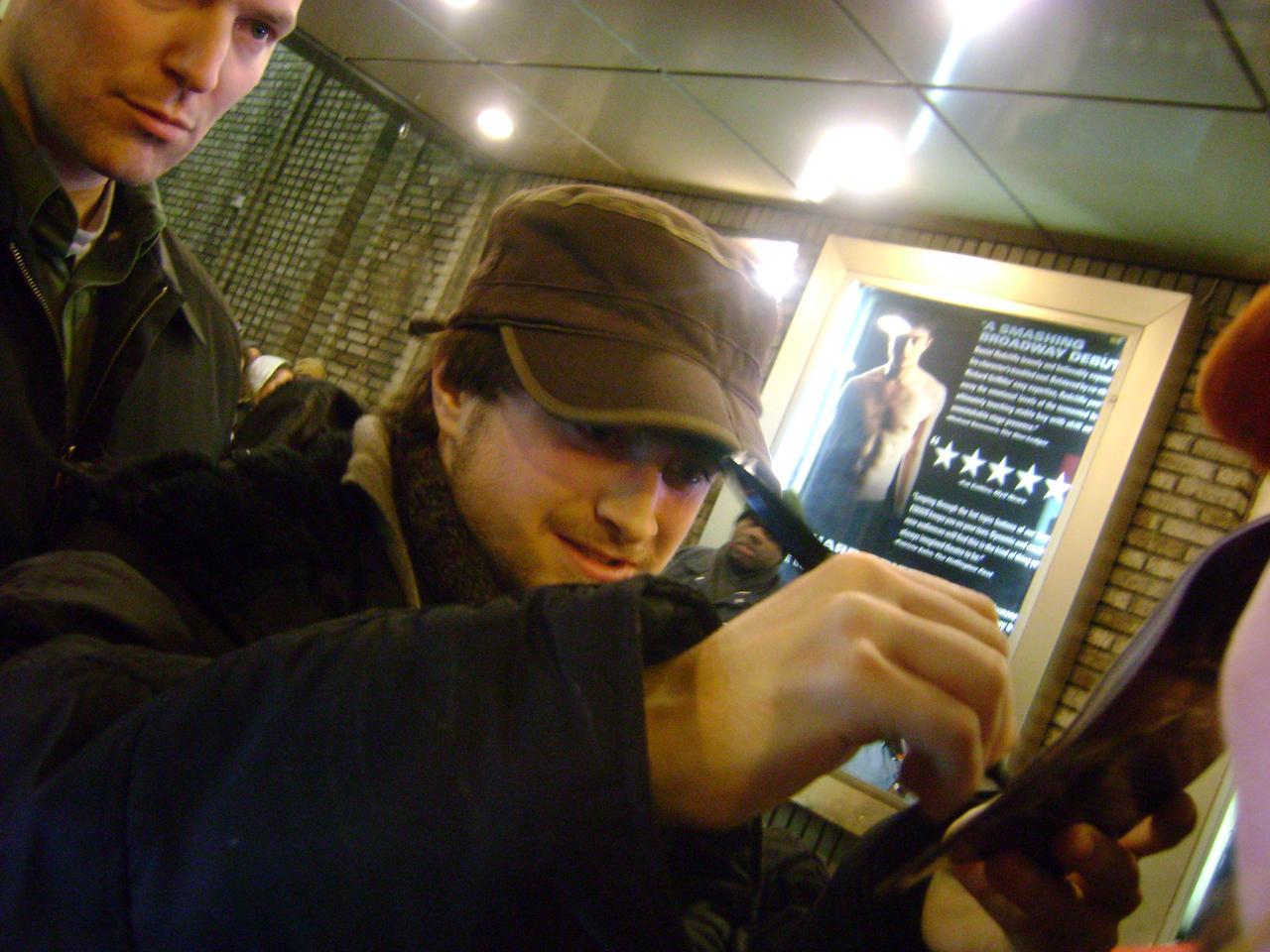Daniel Radcliffe signing