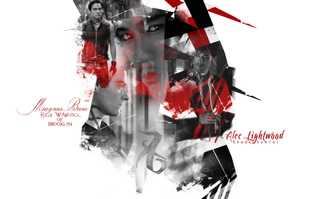 MAGNUS BANE AND ALEC LIGHTWOOD by Miss-deviantE