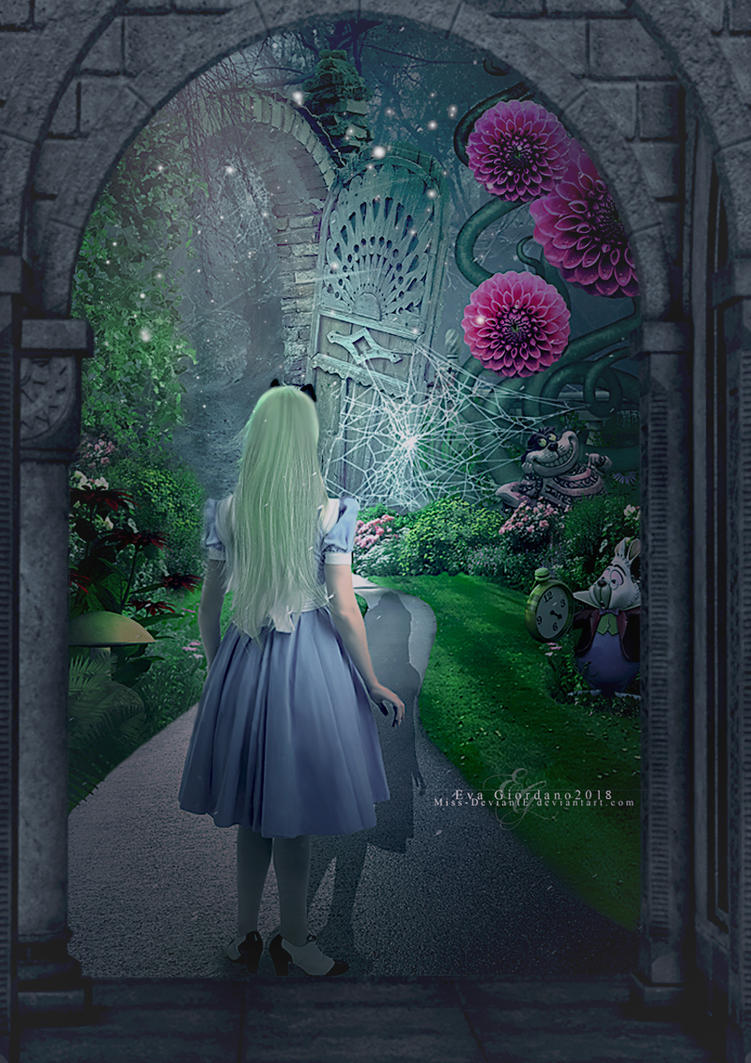 Through the door by Miss-deviantE