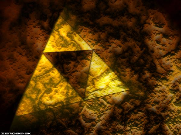 Zelda - Triforce Wallpaper by Zero86-SK