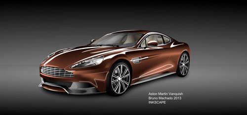 Aston-Martin-Vanquish by BrunoDOCINK