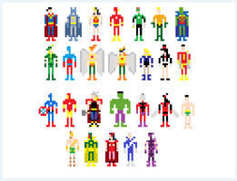 JLA Avengers by ganando-enemigos