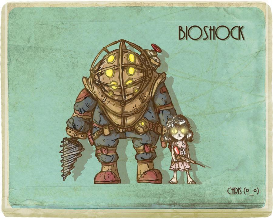 Bioshock by ganando-enemigos
