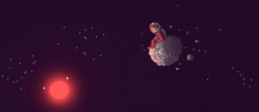 Asteroid 443556 by ganando-enemigos