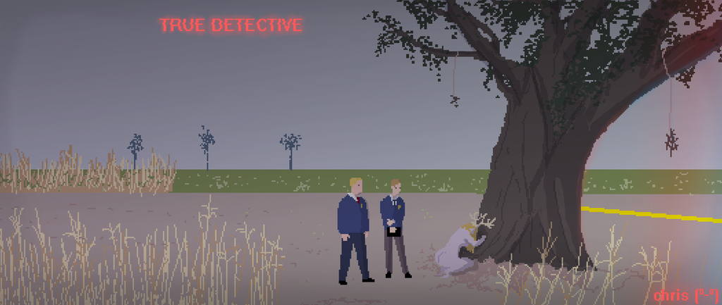 Pixel True Detective by ganando-enemigos