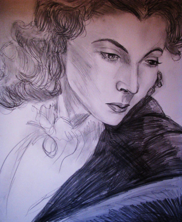 Vivien Leigh by Meljona
