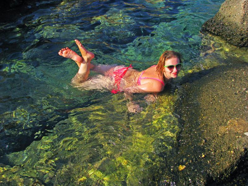 In water by Meljona
