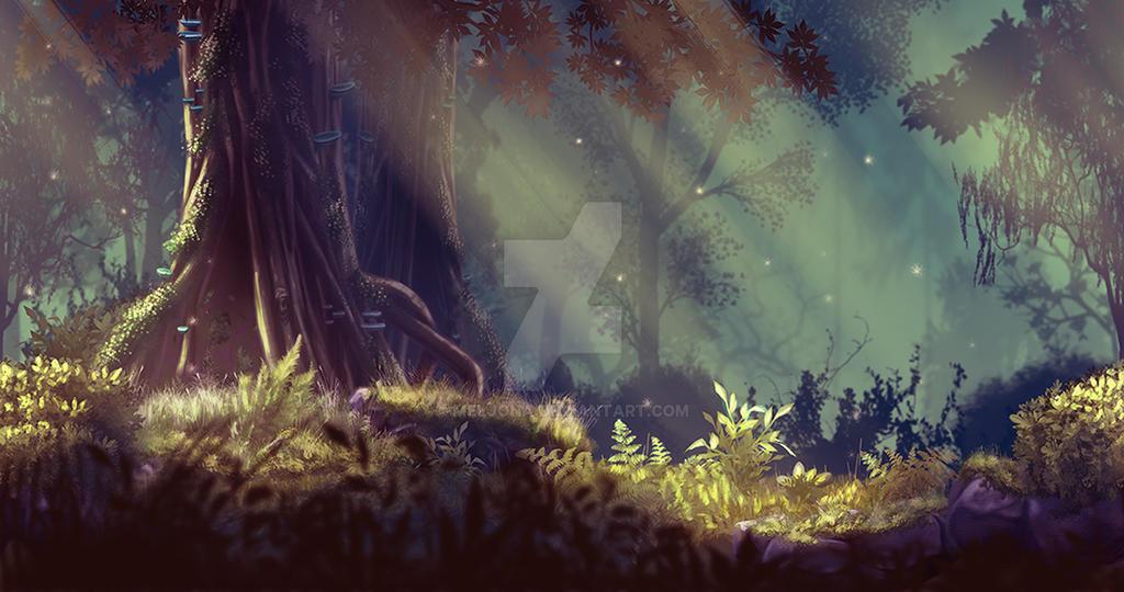 Magic Wood by Meljona