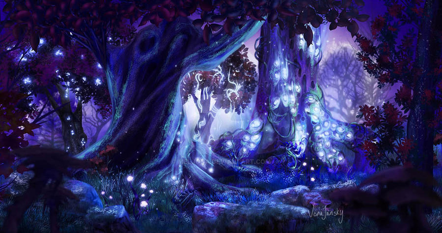 Night Wood by Meljona