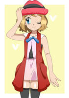 New Anime Serena by Lunariasu