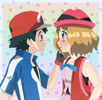 AmourShipping - I like your new hair a lot Serena