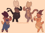 scarecrow kitty adopts : closed