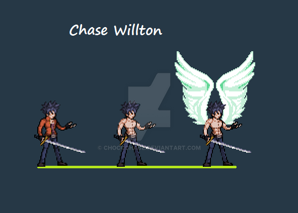 Chase Willton ( The Silver Falcon ) by ChocoChase