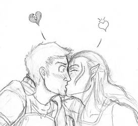 Dudes Kissing Dudes by meghan1317
