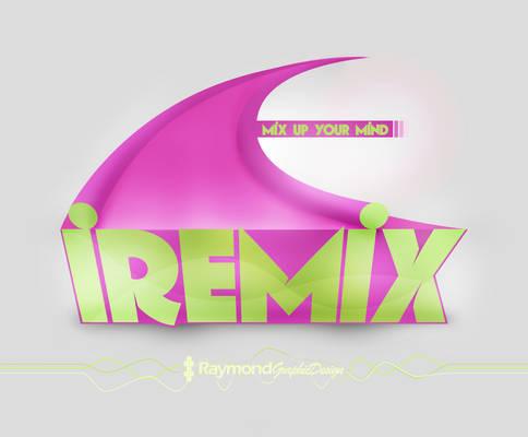 iRemix logo with Photoshop!